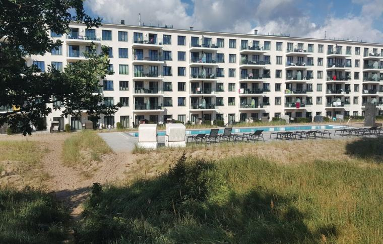 Apartments Prora mit Pool