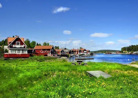 Cottages in Sweden